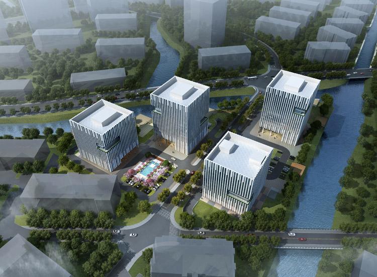 上海漕河泾开发区松江新兴产业园淘米网项目