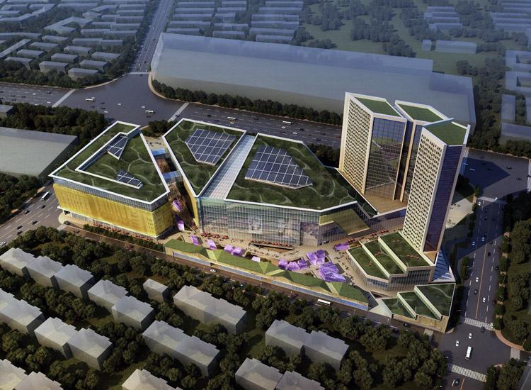 红星美凯龙天津地块概念规划