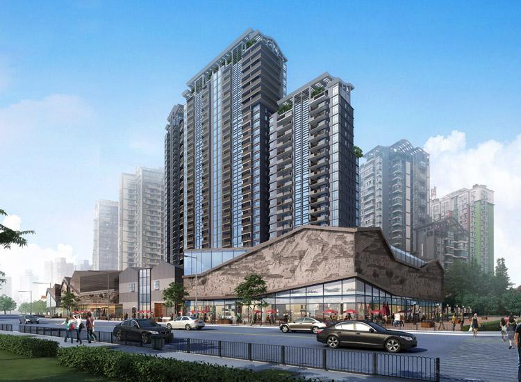 成都锦都五期建筑规划